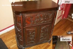 Antique-Cabinet-Top-French-Polishing