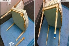 Antique-Gold-Leaf-Chair-Leg-Repair