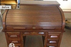 Antique-Roll-Top-Desk-Restoration-Refinishing