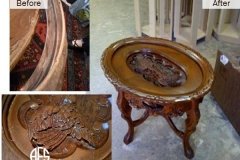 Antique-Table-Wood-Carving-Restoring-Waxing