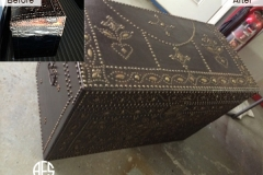 Antique-furniture-trunk-leather-restoration