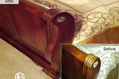 Bed-Footboard-wood-repair-finish