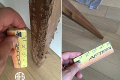 Animal-Damage-Dog-bite-Cat-Scratch-wood-fill-in-repair-restoration-finishing