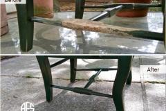 Animal-damage-chair-rung-restore