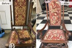 Antique-chair-hand-frame-leg-repair-restoration-upholstery