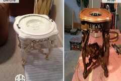 Antique-stand-color-refinishing