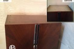 Armoire-top-Restore-finish-veneer-lacquer